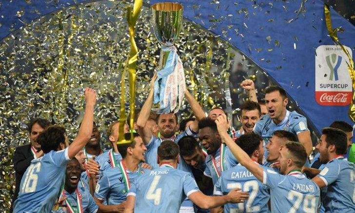 ลาซิโอ อัด ยูเวนตุส 3-1 ผงาดแชมป์ ซูเปอร์โคปปา