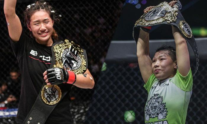 """สองแชมป์โลกสาวลุยเดือด """"ซง จิง หนาน"""" ชิงบัลลังก์ """"แองเจลา ลี"""" หวังครองสองรุ่น"""