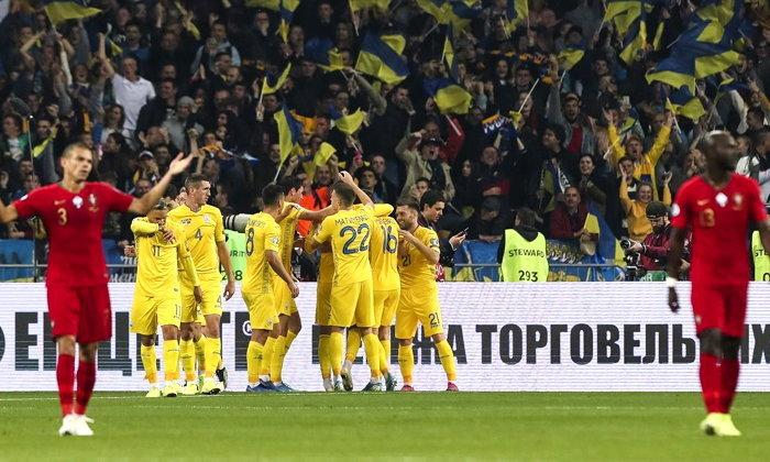 ยูเครน ฟอร์มเฉียบ เปิดรังเชือด โปรตุเกส 2-1 ตีตั๋วลุยยูโร 2020