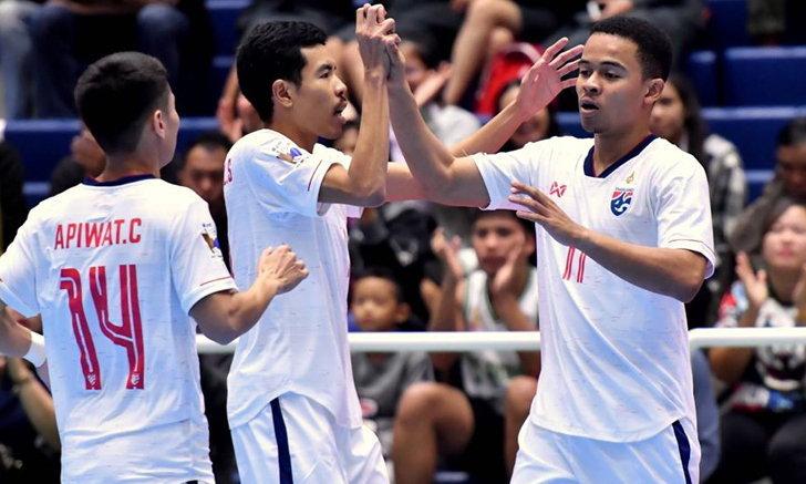 """ทีมโต๊ะเล็กไทย รั้งอันดับ 10 โลก งานประกาศรางวัล """"Futsalplanet Awards"""" ประจำปี 2019"""