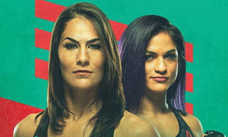 """คู่เอกเดิมพันแชมป์ """"อาย"""" vs """"คาวิลโญ่"""" มวยกรงหญิง UFC Fight Night"""
