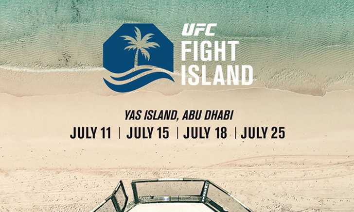 เปิดโปรแกรมจัดเต็มคู่ชกใน 4 ศึกมวยกรง UFC Fight Island