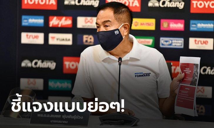 สรุปถ้อยแถลงจากสมาคมฟุตบอลฯ ทำไมไทยลีกเลื่อนแข่งขันออกไปเป็นเดือนกันยายน?