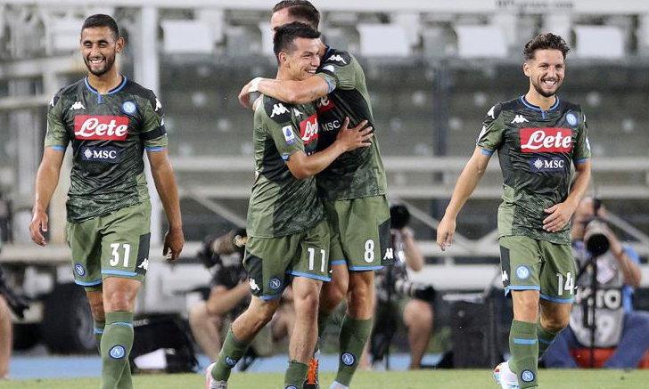 Napoli form elegant attack in Verona 2-0 Kaloch Serie A battle