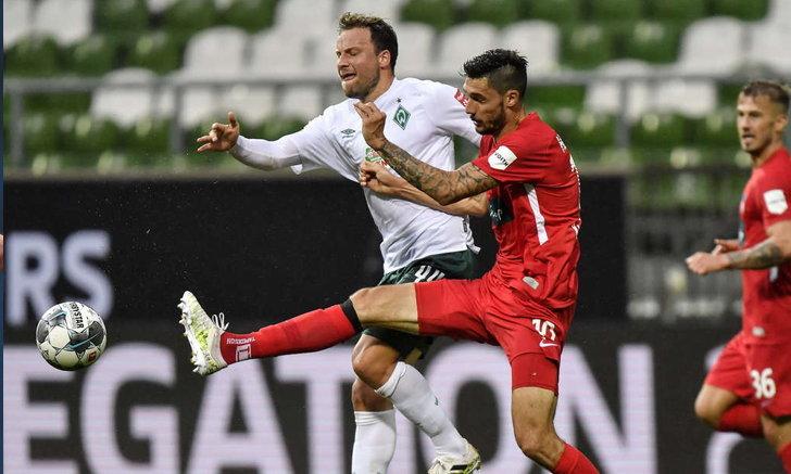 10 Bremen, Jay Heidenheim 0-0 Playoff Bundesliga first match