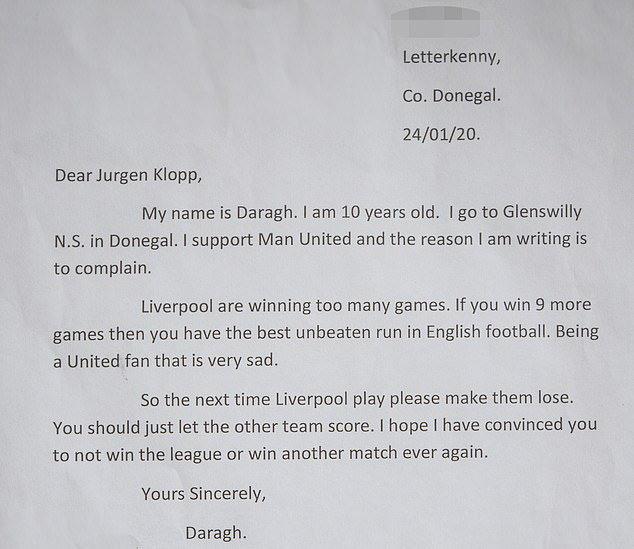 จดหมายจากแฟนผี