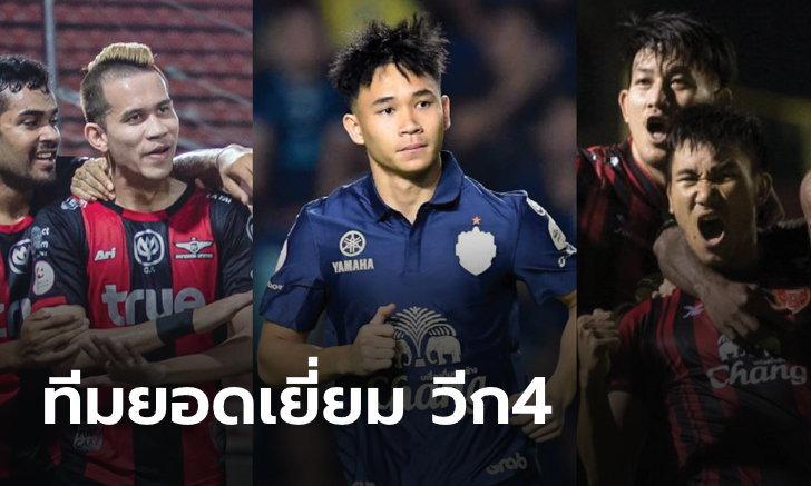 6 แข้งไทยติดโผ ทีมยอดเยี่ยม แมตช์วีก 4 ศึกโตโยต้า ไทยลีก