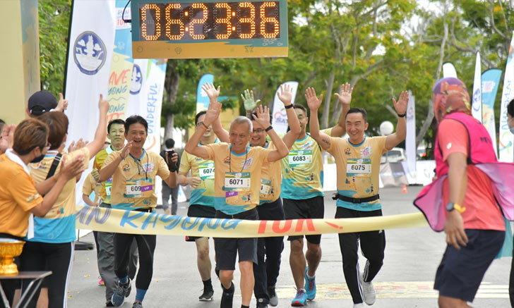 """""""Run Rayong"""" คึกคัก!  """"พิพัฒน์-ก้องศักด"""" นำนักวิ่งกว่าพันคนสร้างความเชื่อมั่นจังหวัดระยอง"""