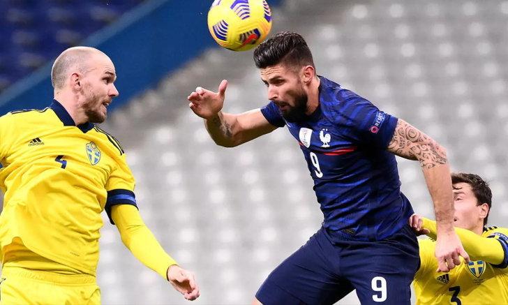 ฝรั่งเศส เปิดบ้านรัว สวีเดน 4-2 ซิวแชมป์กลุ่ม ทะลุรอบรองฯ เนชันส์ ลีก
