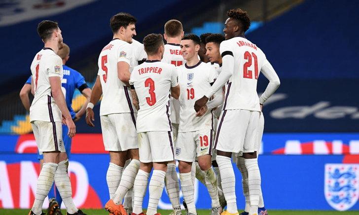 """""""โฟเดน"""" กดเบิ้ล! อังกฤษ ต้อน ไอซ์แลนด์ 4-0 เนชันส์ ลีก ลีกเอ กลุ่ม 2"""