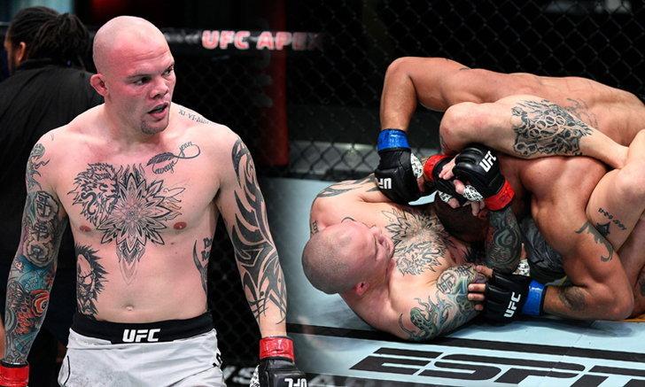 """ปิดบัญชียกแรก! """"สมิธ"""" ซิวชัยจับ """"คลาร์ก"""" ล็อกไทรแองเกิ้ล ศึก UFC Fight Night"""