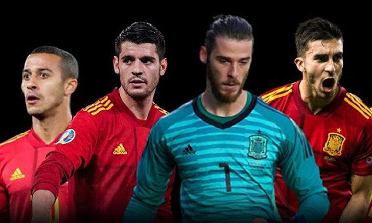 ทีมชาติสเปน : ข้อมูลทีม, รายชื่อนักเตะ ,โค้ช