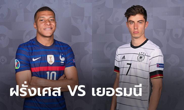 พรีวิวฟุตบอล ยูโร 2020 รอบแบ่งกลุ่ม : ฝรั่งเศส พบ เยอรมนี