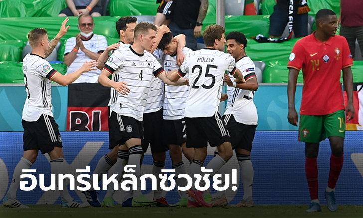 ลุ้นต่อนัดสุดท้าย! เยอรมนี ฟอร์มดุอัด โปรตุเกส 4-2 ศึกยูโร 2020
