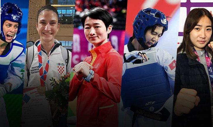 """ทำความรู้จัก 5 คู่แข่งแย่งแชมป์โอลิมปิก """"เทนนิส"""" พาณิภัค วงศ์พัฒนกิจ"""