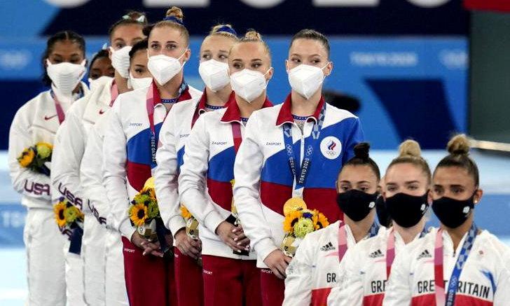 สาวรัสเซีย (ROC) ผงาดคว้าเหรียญทองยิมนาสติกทีมหญิงรวมอุปกรณ์