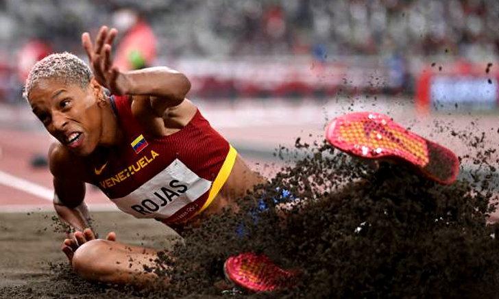 สาวเวเนซุเอลา ทำลายสถิติโลก เขย่งก้าวกระโดดหญิง ที่ยาวนานถึง 26 ปี