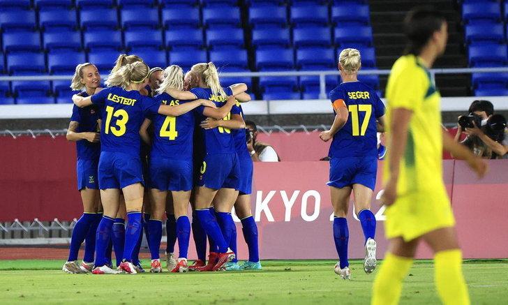 สาวไวกิ้งลิ่วชิงทอง! สวีเดน เฉือนหวิว ออสเตรเลีย 1-0 เตรียมล้างอายชิงเหรียญทองโอลิมปิกเมื่อ 5 ก่อน