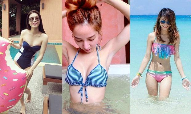 นานๆจัดสักที! รวมสาวไทยในชุดเล่นน้ำ