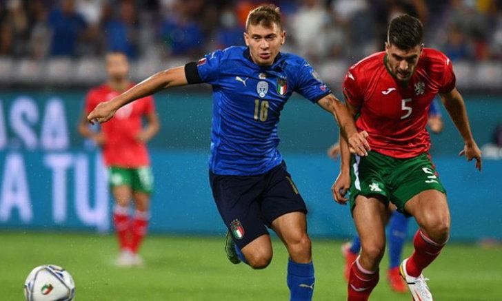อิตาลี สะดุดพลาดเจ๊า บัลแกเรีย 1-1 ยังนำเป็นจ่าฝูง กลุ่ม C ศึกคัดบอลโลก