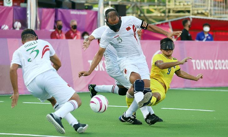 บอลตาบอดไทย พ่าย โมร็อกโก 0-2 พาราลิมปิก โตเกียว