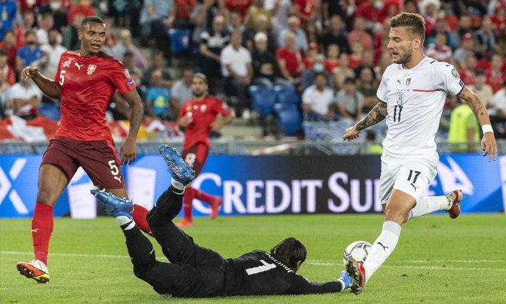 อิตาลี เจ๊า สวิตเซอร์แลนด์ 0-0 ทุบสถิติไม่แพ้ 36 นัดติด