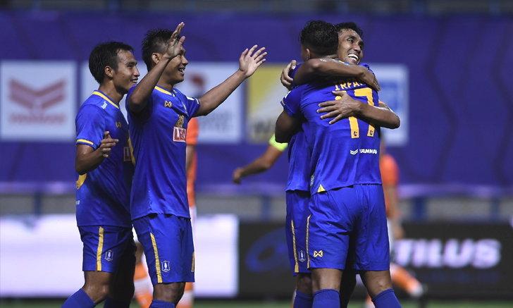 บีจี ปทุม ฟอร์มเฉียบ เปิดรังอัด ราชบุรี  2-0 นำจ่าฝูงศึกรีโว่ไทยลีก