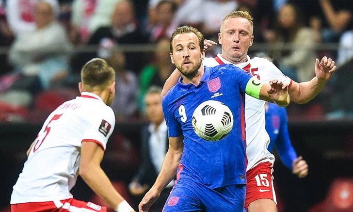อังกฤษ โดน โปแลนด์ ไล่เจ๊าทดเจ็บ 1-1 ศึกคัดเลือก โซนยุโรป กลุ่มไอ