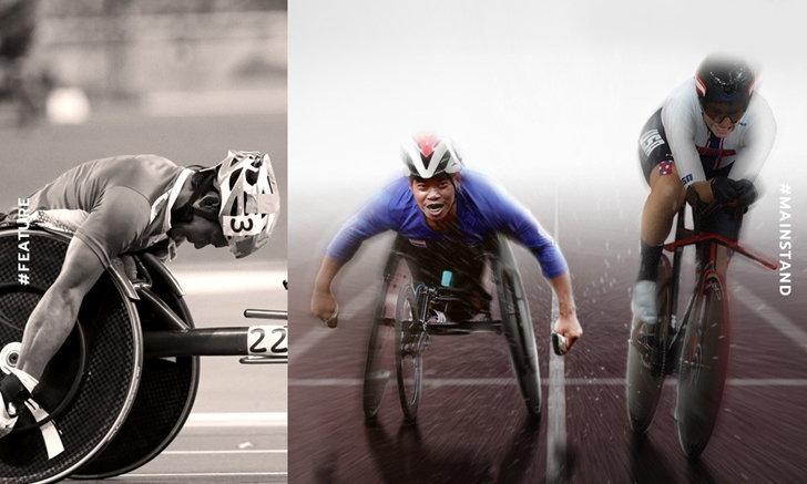 """นักกีฬา """"วีลแชร์เรซซิ่ง"""" สามารถทำความเร็วได้สูงสุดเท่าไหร่"""
