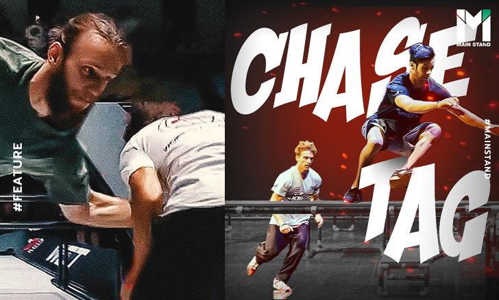 """""""Chase Tag"""" : เมื่อการ """"วิ่งไล่จับ"""" ถูกเพิ่มสีสันสู่กีฬาสุดระทึก"""