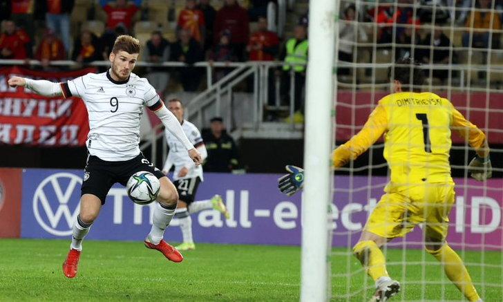 เยอรมนี บุกถล่ม มาซิโดเนียเหนือ 4-0 ตีตั๋วลุยบอลโลกรอบสุดท้ายที่กาตาร์