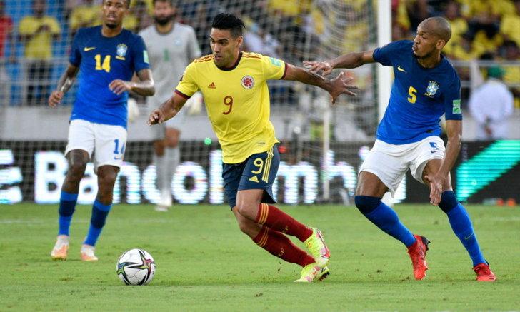 หยุดสถิติชนะรวด! โคลอมเบีย แบ่งแต้ม บราซิล แบบไร้สกอร์ คัดบอลโลก โซนอเมริกาใต้