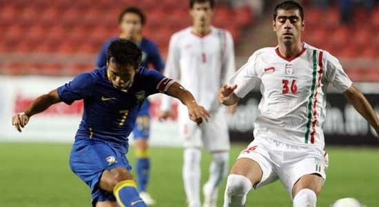 ไทยเศร้า!!บุกพ่ายอิหร่านท้ายเกม 0-1