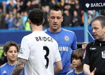 บริดจ์ไม่ขอร่วมทีมชาติอังกฤษหากมีเทอร์รี
