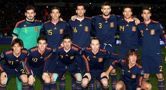 สเปนแบโผ30แข้งบอลโลกชุดแรก