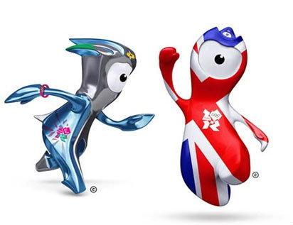 อังกฤษเปิดตัวมาสคอตโอลิมปิก2012