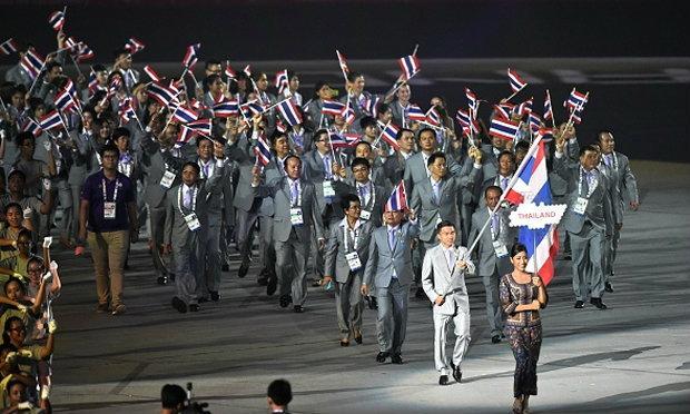 ประมวลภาพพิธีเปิดกีฬาซีเกมส์ ครั้งที่ 28