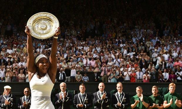 เซเรน่า สุดยอด คว้าแชมป์หญิงเดี่ยว เทนนิสวิมเบิลดัน สมัย6