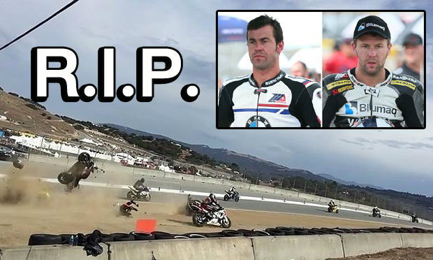 ช็อกวงการ! 2 นักบิดสเปนเสียชีวิตศึกซูเปอร์ไบค์ เวิลด์ แชมเปี้ยนชิพ (คลิป)