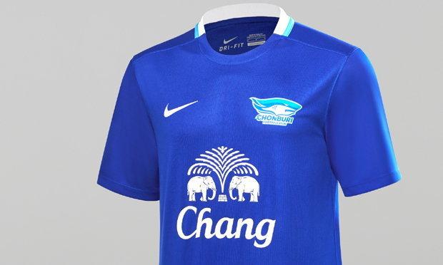 """""""ไนกี้"""" เปิดตัวชุดแข่งทีมชลบุรี เอฟซี ฤดูกาล 2016/2017"""