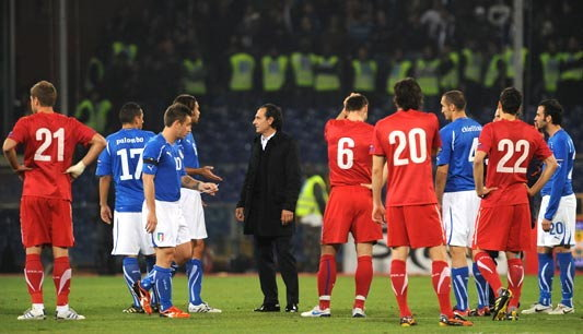 ส.บอลอิตาลี ไม่ยอมเตะใหม่เซิร์บคัดยูโร