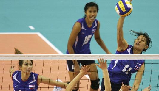สาวไทยคืนฟอร์มเก่งตบคาซัคสถาน3-1เซต