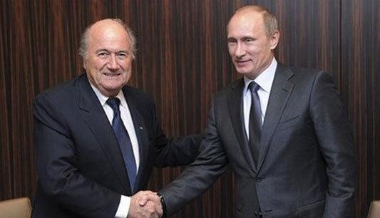 นายกรัสเซียไปซูริคขอบคุณFIFAให้จัดบอลโลก