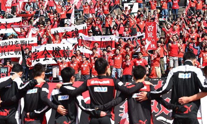 ไม่ทิ้งกัน!ลีกฟุตบอลญี่ปุ่นรวมตัวช่วยเหลือผู้ประสบภัยแผ่นดินไหว