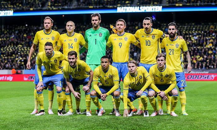 ข้อมูลทีมชาติสวีเดน