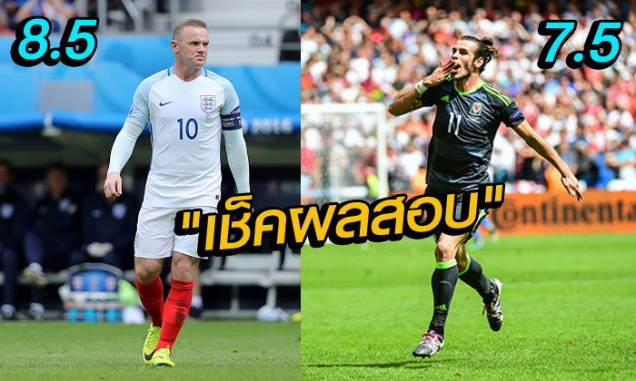 คะเเนนความสามารถนักเตะหลังเกม อังกฤษ ชนะ เวลส์ 2-1