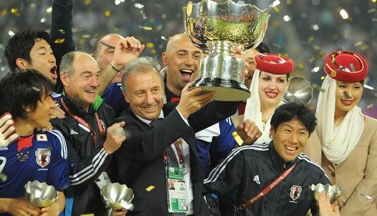 กุนซือญี่ปุ่นชมนักเตะสำรองหัวใจคว้าแชมป์