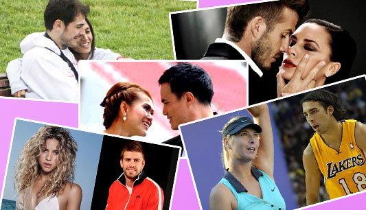 5คู่รักนักกีฬาสุดหวานแหวว ประจำวาเลนไทน์ปี54