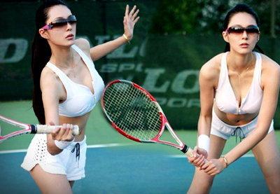 เทนนิส เซ็กซี่แบบขยี้ใจสุดๆ