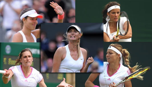 ว่ากันว่า..นี่คือ 5 สาวสวยวิมเบิลดัน2011